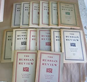 The Russian Review: An American Journal Devoted To Russia Past and Present, Volumes 1-7 (1941-8): ...