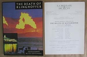 The Death of Klinghoffer [Original Program, 1991, La Monnaie/De Munt]: Adams, John et al.