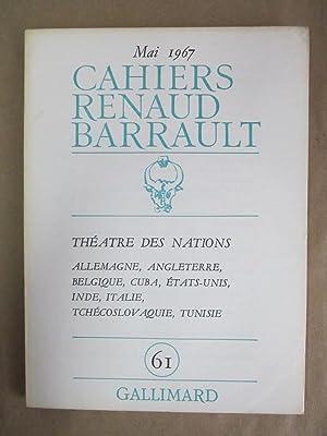 Cahiers Renaud-Barrault, No. 61: Benmussa, Simone (ed.)