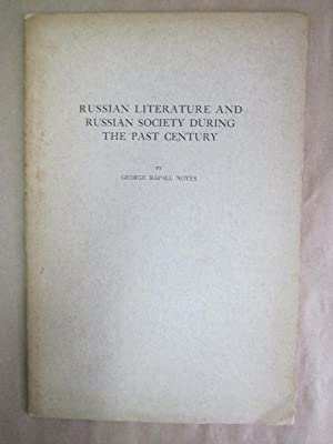 Russian Literature and Russian Society During the Past Century [signed]
