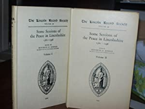 Some Sessions of the Peace in Lincolnshire, 1381-1396 (2 volumes)