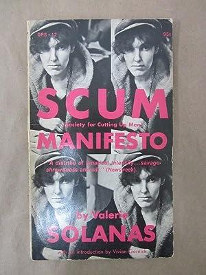 S.C.U.M. Manifesto: Solanas, Valerie; Gornick,