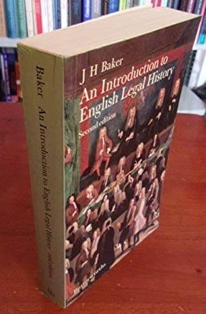 An Introduction to English Legal History (2nd: Baker, J.H.