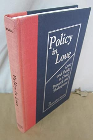Policy in Love: Lyric and Public in: Martin, Christopher