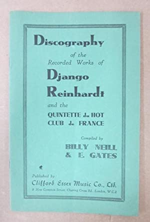 Discography of the Recorded Works of Django: Neill, Billy &