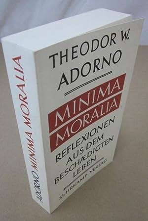 Minima Moralia: Reflexion aus dem Beschaedigten Leben: Adorno, Theodor