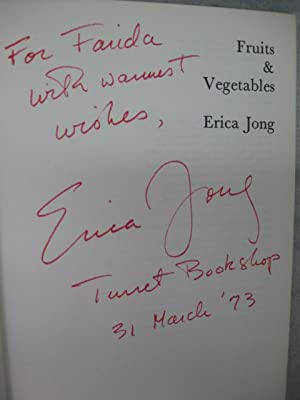 Fruits & Vegetables: Jong, Erica