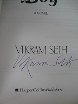 A Suitable Boy [Advance Reading Copy, Signed]: Seth, Vikram