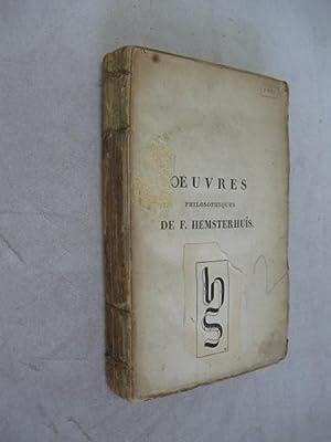 Oeuvres Philosophiques de F. Hemsterhuis, Tome II: Hemsterhuis, Francois]