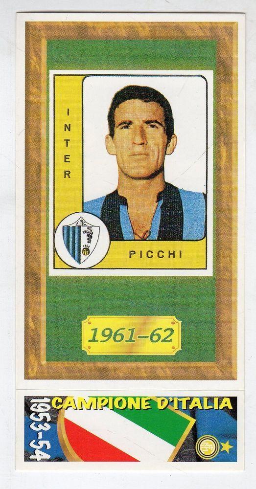 INTER PICCHI figurina CALCIATORI PANINI 1965//66 NEW