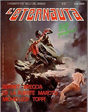 fumetto L'ETERNAUTA NUMERO 51 BERNET BRECCIA DE
