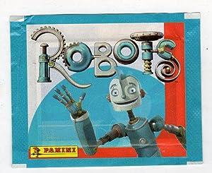 bustina figurine packet pochette - ROBOTS PANINI
