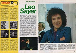 Ritaglio Clipping - LEO SAYER