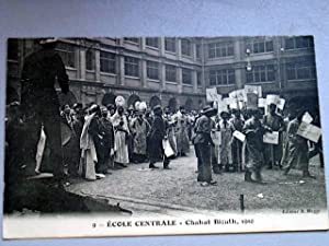 9 - ECOLE CENTRALE - CHAHUT BIZUTH, 1910.: Carte Postale Ancienne - 75 - PARIS