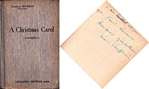 A Christmas Carol. In Prose, Being A Ghost Story For Christmas. Avec des notes grammaticales, litt&...