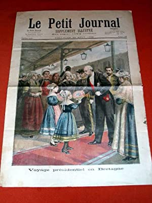 LE PETIT JOURNAL, Supplement illustre N° 301 du 23 Août 1896 - (4 feuilles/8 pages) ...