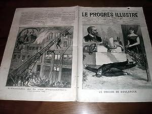 """Le Progrès illustré"""", supplément littéraire N° 43 du 11 ..."""