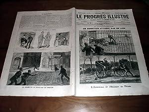 """Le Progrès illustré"""", supplément littéraire N° 14 du 22 mars1891 (4: Le Progrès Illustré"""