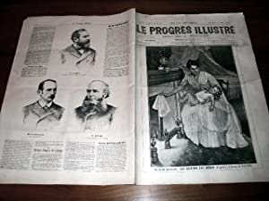 """Le Progrès illustré"""", supplément littéraire N° 65 du 13 mars ..."""