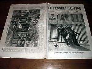 """Le Progrès illustré"""", supplément littéraire N° 45 du 25 ..."""