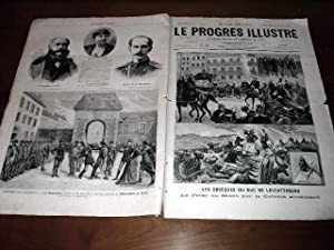 """Le Progrès illustré"""", supplément littéraire N° 05 du 18 ..."""