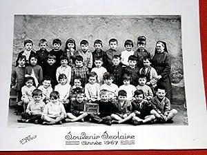 Ancienne Photographie de Classe - Ecole des Aqueducs - Roanne (Loire) - Souvenir Scolaire Ann&...