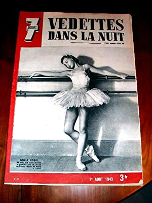 7 Jours N° 133 du 01081943 Vedettes dans la NuitGisèle Robin: SEPTJOURS