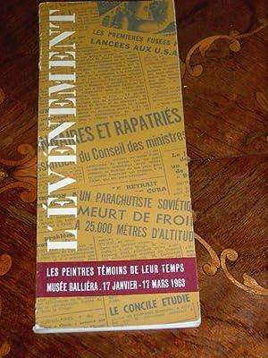 L'évènement par soixante peintres témoins de leur temps. Catalogue de: ...