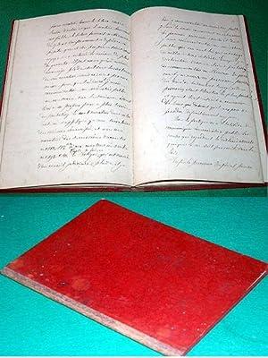 Manuscrit SUITE DU PRELIMINAIRE DE CONCILIATION Exemplaire de droit :: Manuscrit de la fin