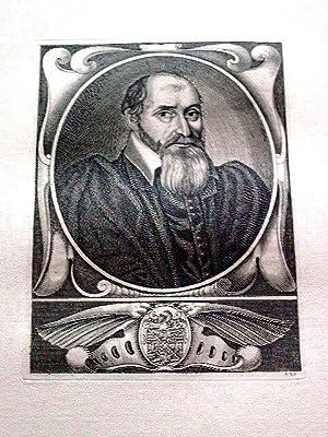Gravure sur cuivre sur papier vergé représentant François LASNIER lieutenant g...