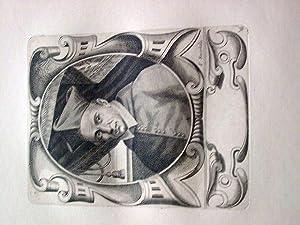 Gravure sur cuivre sur papier vergé représentant le Cardinal Jean: GRAVURELe