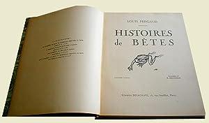 Histoires de Bêtes. Illustré par H. Deluermoz: PERGAUD (Louis).