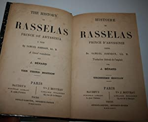 The history of Rasselas, Prince of Abyssinia, a tale by Samuel Johnson.: SAMUEL JOHNSON / J.