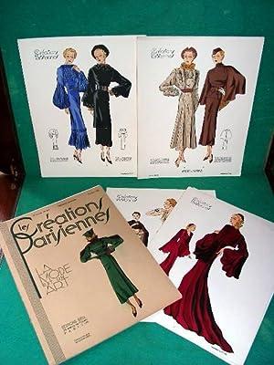 Les CREATIONS PARISIENNES. La mode est un art. n° 169 octobre 1935: LES CREATIONS PARISIENNES.