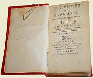 Etrennes du Parnasse, Choix de Poésies: Collectif