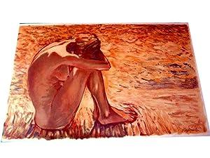ETE Peinture en couleurs de BATTISTA lithographiée en couleurssur: Lithographie Claude