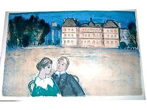 """Lithographies originale en couleurs sur Vélin d""""Arches de Roger Forissier - """"..."""