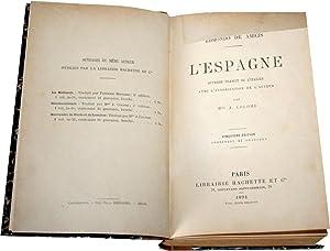 L'Espagne. Ouvrage traduit de l'italien par Mme J. Colomb. Cinquième édition, ...