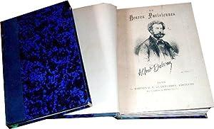Les heures parisiennes.: DELVAU (Alfred). (1825-1867). [ ILLUSTRE ROMANTIQUE - EMILE BENASSIT ].