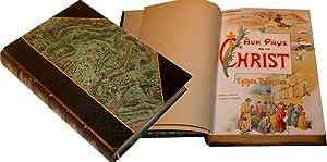 Aux Pays du Christ. Egypte - Palestine. Cinquième édition.: LANDRIEUX (Mgr).