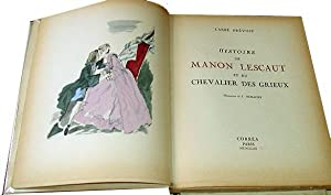 Histoire de Manon Lescaut et du chevalier Des Grieux.: PREVOST (Abbé).