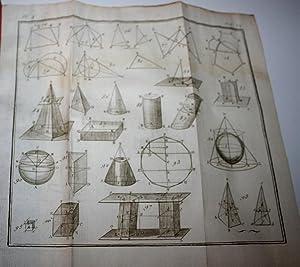 Cours élémentaire et complet de mathématiquespures, augmenté par Marie: LACAILLE (Nicolas