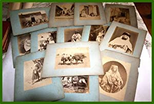 Grande photographie ancienne originale (Vers 1880). Tirage albuminé: ALGERIE