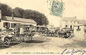CLERMONT-FERRAND. - Le col de Ceyssat et les Hôtels. - 80: Carte Postale Ancienne - 63 - PUY ...