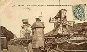 JOIGNY. - Fête Vénitienne de 1906. - Moulin de la Galette et Pièces Diverses. -...