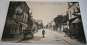 Asnières - Rue du Président Wilson; - 137.: Carte Postale Ancienne - 92 - HAUTS DE ...