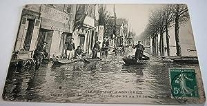 Le Quai d'ASNIERESInnondations de 1910Période du 22 au 26: Carte Postale