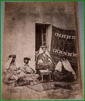 Grande photographie anciennes originale (Vers 1880). Tirage albuminé d'époque ...