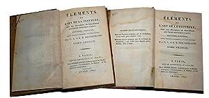 Elements de l'Art de la Teinture Avec une description du blanchîment: BERTHOLLET Claude