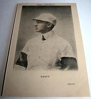 Nos Jockeys.KNAPP.: Carte Postale